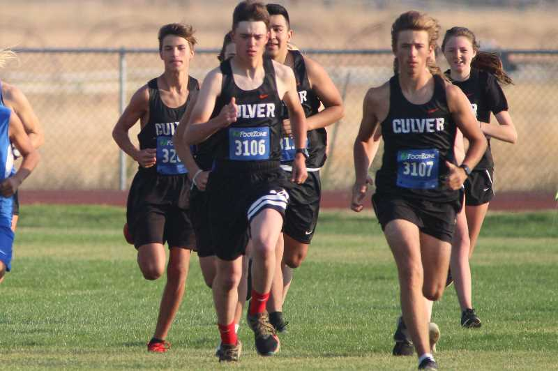 PMG PHOTO: ANDY DIECKHOFF - Culver finished seventh overall in the boys' race at the Champs Invite in Lebanon on Friday. The girls' team finished 14th.