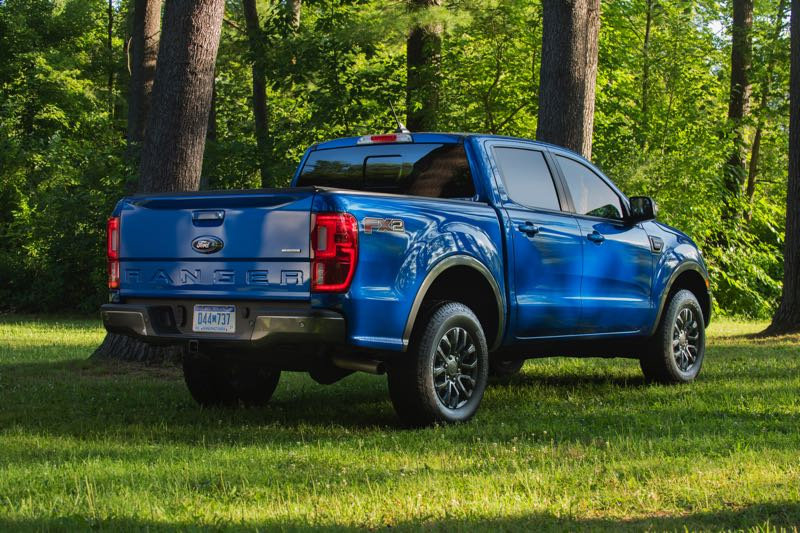 COURTESY PHOTO: FORD MOTOR CO. - The Ford Ranger is now available with three four-wheel-drive systems, included a new Tremor Package with increased ride height and heavy-duty components.