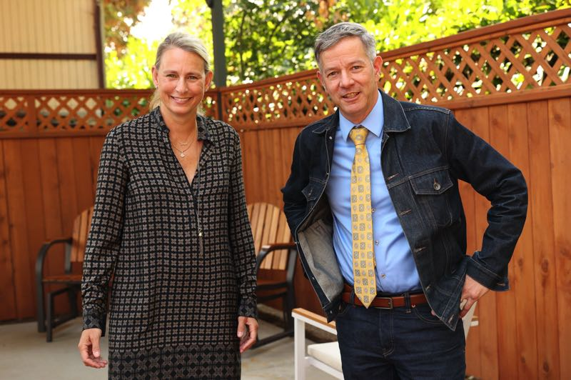 PMG PHOTO: JAIME VALDEZ - Sen. Kate Lieber is an attorney and has been a prosecutor. Rep. Rob Nosse has worked in organized labor. For 2021, they were the chief budget-writers for the state's Human Services.
