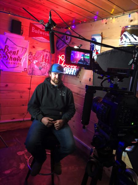 COURTESY PHOTO: JESSIE LEIGH - Estacada resident Luke Youngberg, one of the community members who battled the Riverside Fire, was interviewed for Jessie Leighs Small Town Fight music video.