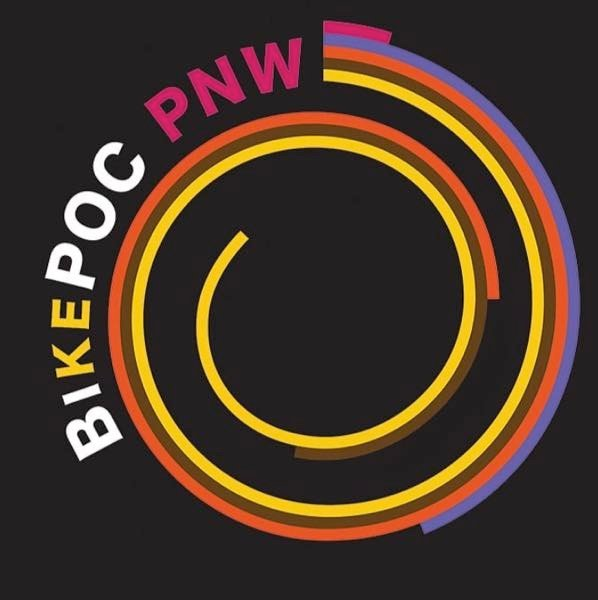 CONTRIBUTED GRAPHIC - The logo of BikePOC PNW