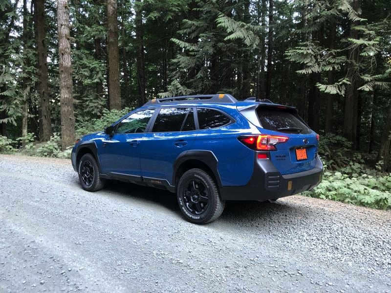 PMG PHOTO: JEFF ZURSCHMEIDE - The 2022 Subaru Outback Wilderness edition increases ground clearance from 8.7 to 9.5 inches for better off-road driving.