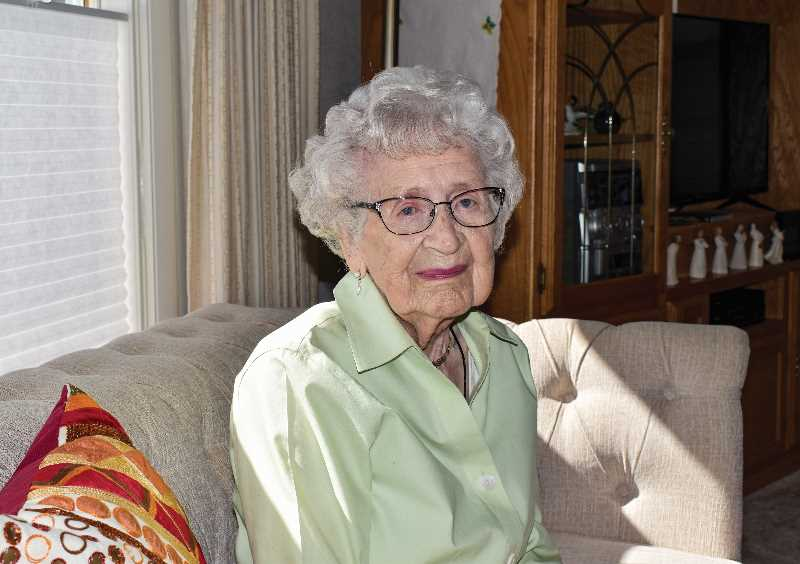 RAMONA MCCALLISTER - Grace Bannon recently celebrated her 100th birthday among family and friends.
