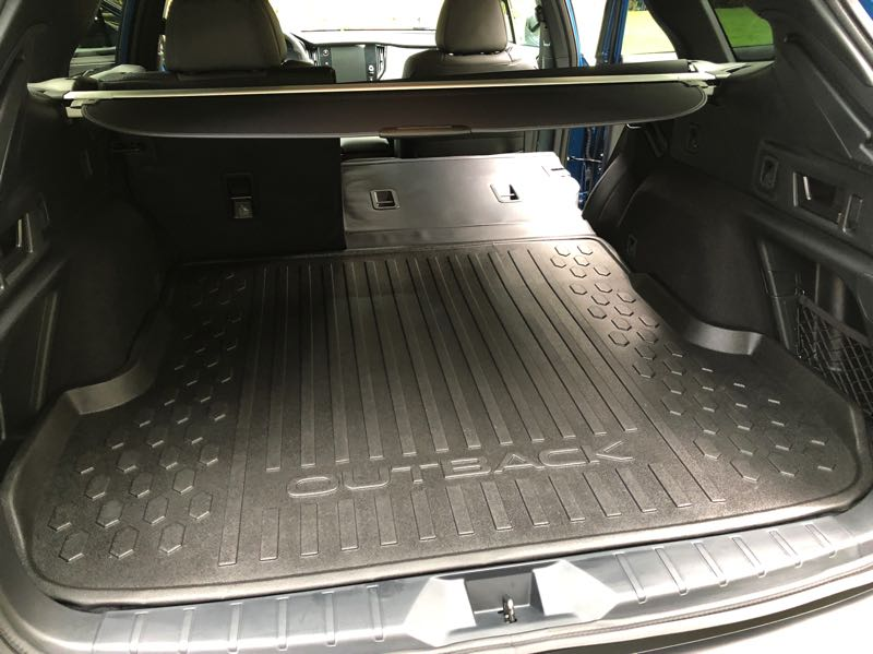 PMG PHOTO: JEFF ZURSCHMEIDE - Cargo space is so large in the 2022 Subaru Outback that can do much of the work of a small pickup truck.