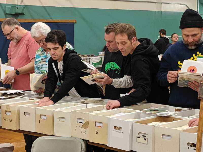 FILE PHOTO: JOHN BAKER - Canby's Record Bonanza returns Oct. 24 with plenty of records, posters, and musical nostalgia for music lovers of all types.