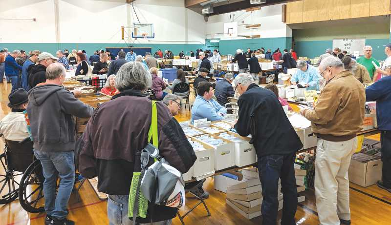 FILE PHOTO: JOHN BAKER - This year's Record Bonanza will have less vendors on hand and will be working with COVID-19 safety protocols, but there should be plenty of interesting items for music memorabilia enthusiasts to enjoy.