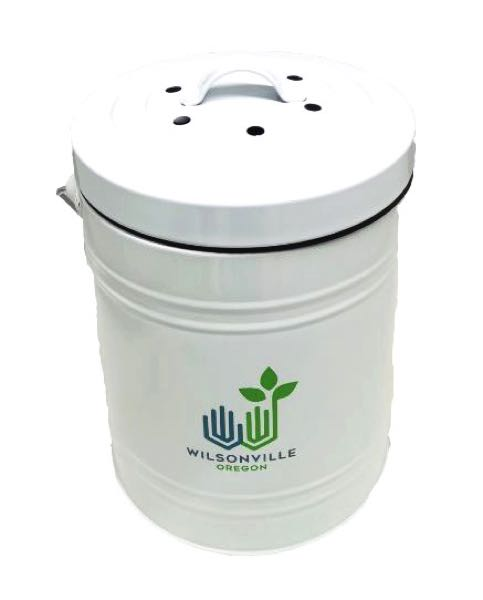 COURTESY PHOTO: CITY OF WILSONVILLE - The Wilsonville government is handing out 500 composting bins to the community.