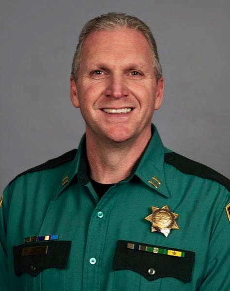 COURTESY PHOTO: MULTNOMAH COUNTY SHERIFFS OFFICE - Chief Travis Gullberg makes his way to Gresham with a wealth of knowledge from a long career with the Multnomah County Sheriffs Office.