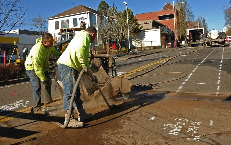 PMG FILE PHOTO - Lake Oswego may increase its street maintenance fee to fund pathway projects.