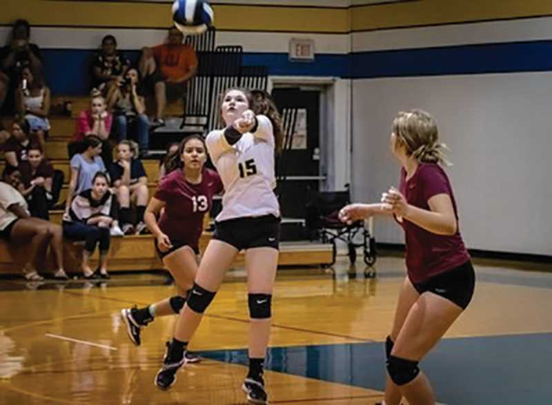 Country Christiain senior Lilly Begley has been a key performer for this year's volleyball team.
