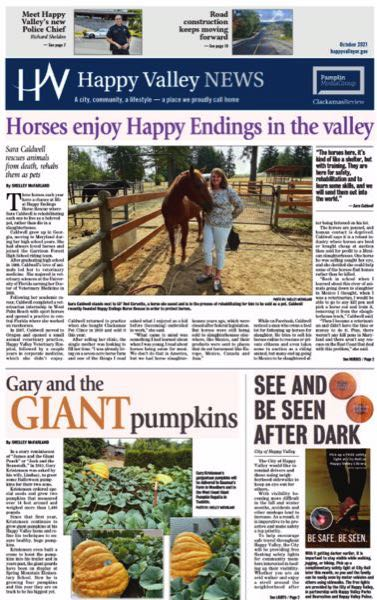 (Image is Clickable Link) Happy Valley News October 2021