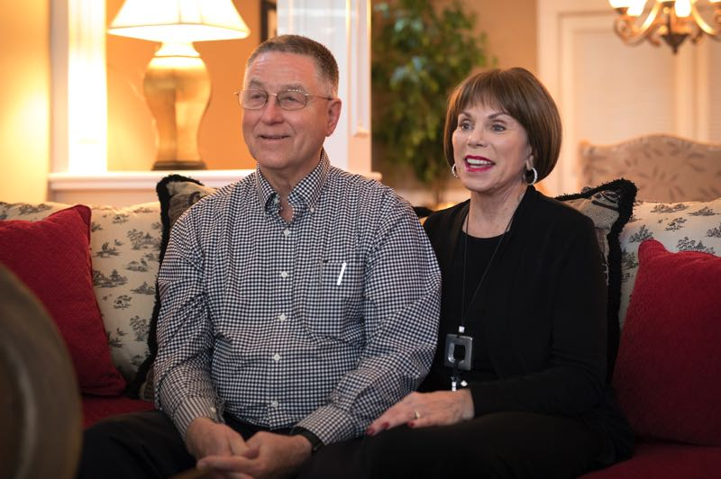PMG PHOTO: JAIME VALDEZ - Bob and Judy Nix volunteer locally and taught students in Crete to speak English in 2019. The Tualatin couple say they enjoy the feeling that comes with volunteerism.