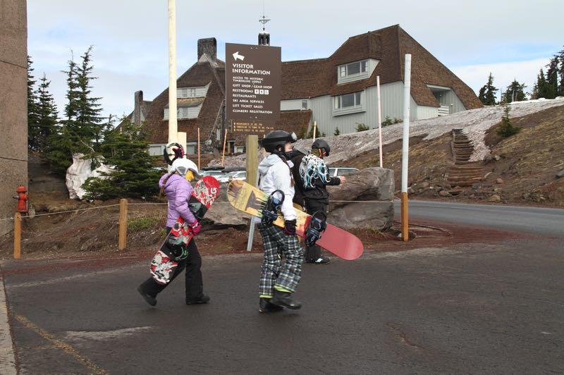 COURTESY PHOTO: TIMBERLINE LODGE - Timberline Lodge is planning for a season with precautions as mandated by the state.