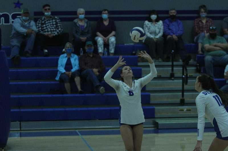 PMG FILE PHOTO: TANNER RUSS - Sophomore Gracie Koch has been a big part of setting up St. Paul volleyballs offense.