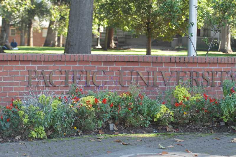 PMG PHOTO: WADE EVANSON - Pacific University in Forest Grove