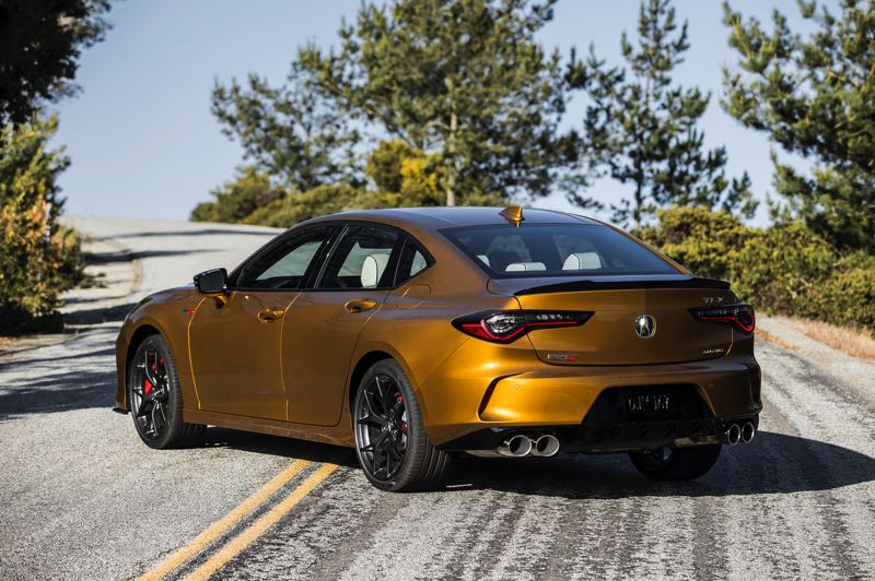 CONTRIBUTED PHOTO: AMERICAN HONDA MOTOR COMPANY - The 2021 Acura TLX Type S competes against high-end European sport sedans that cost thousands more.
