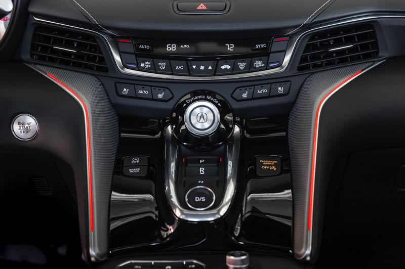 COURTESY PHOTO: AMERICAN HONDA MOTOR CO. - The Dynamic Mode selector in the 2021 Acura TLX Type S includes Sport and Sport+ for better performance.