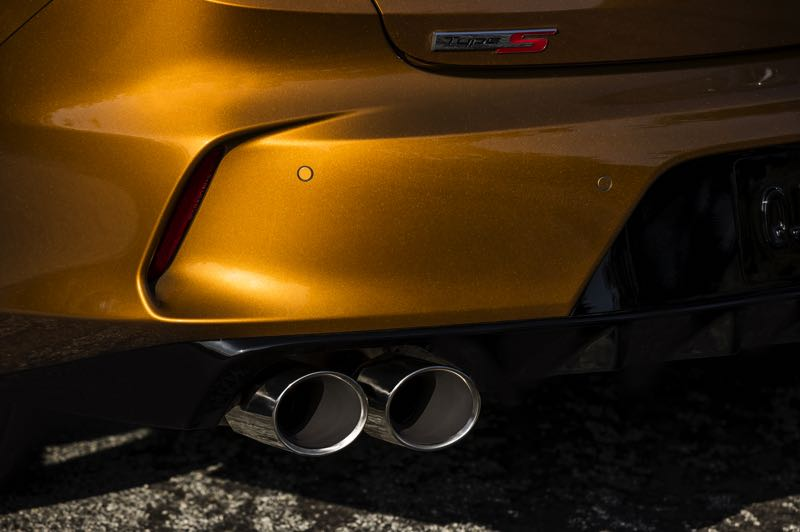 COURTESY PHOTO: AMERICAN HONDA MOTOR CO. - Dual twin exhaust tips are part of the Type S package for the 2021 Acura TLX.