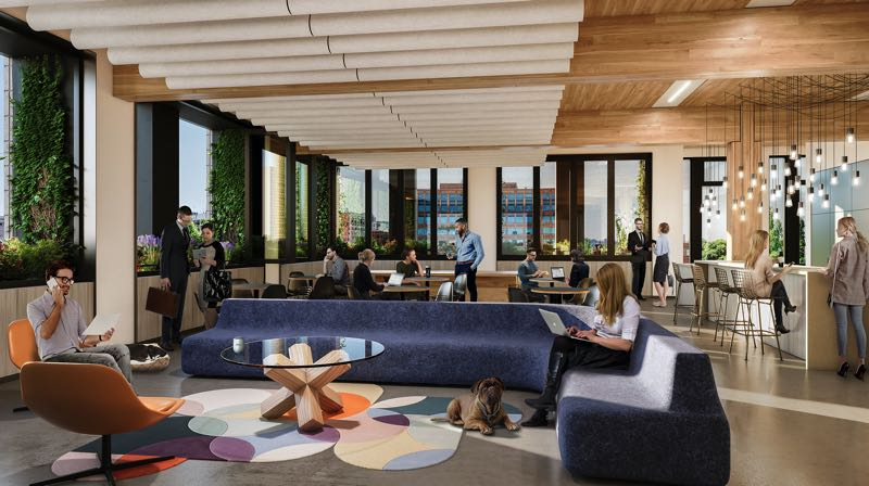 COURTESY GRAPHIC: ZGF ARCHITECTS - At five stories and 58,700 square feet, the PAE Living Building is the largest commercial Living Building in the world.