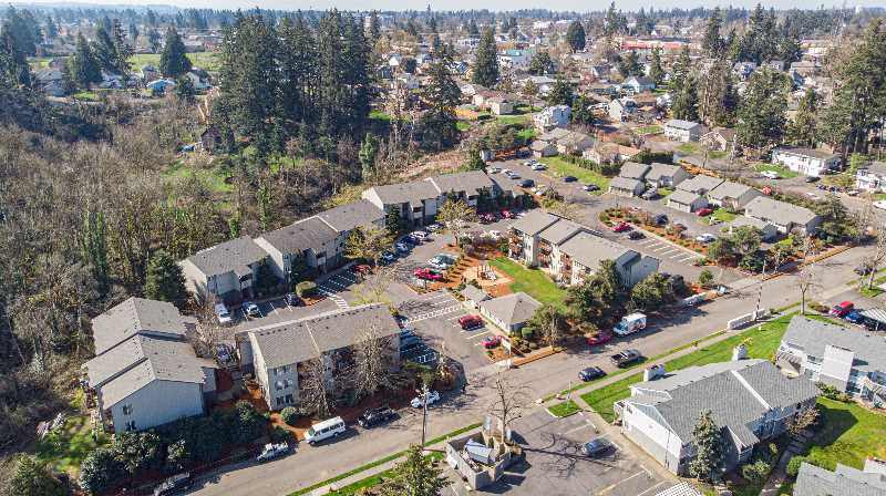 COURTESY PHOTO: NORRIS & STEVENS - Forest Heights Apartments in Oregon City recently sold for $12.8 million.
