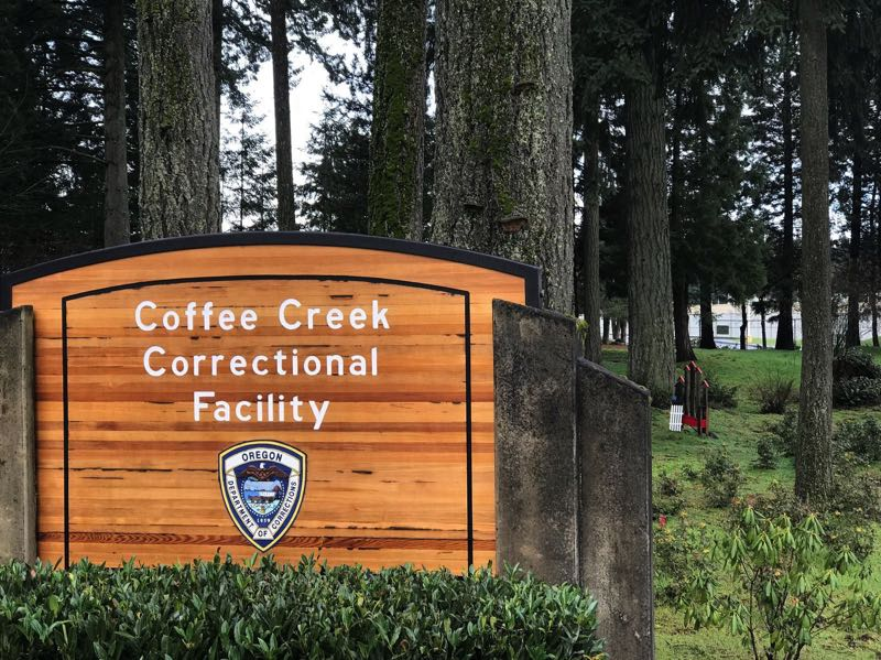 PMG FILE PHOTO - Coffee Creek Correctional Facillity located in Wilsonville is the only women's prison in Oregon.