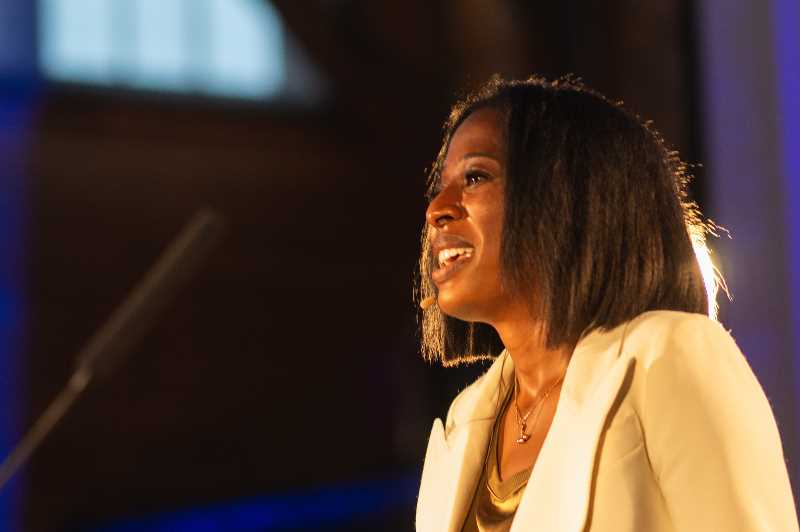 COURTESY PHOTO: GREATER PORTLAND INC. - Monique Claiborne, the new CEO of Greater Portland Inc, hopes to bring 10,000 new jobs to the region on the next 10 years.