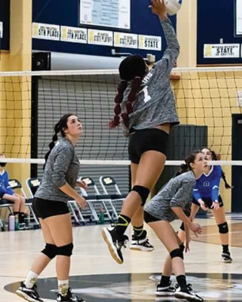 COURTESY PHOTO: MINDY GRECO - Country Christian is on a bit of roll right now with a win in its home tournament and a league victory Tuesday.