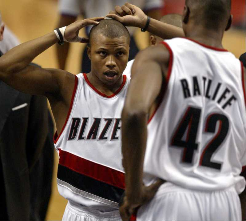 PMG FILE PHOTO - Former Trail Blazer Sebastian Telfair played with Portland from 2004 to 2006. He's one of more than a dozen former NBA players charged with fraud.