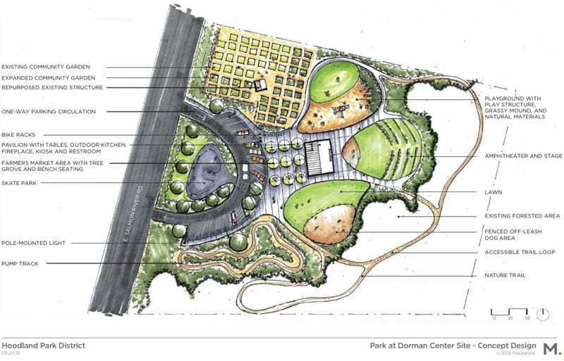 COURTESY PHOTO: HOODLAND WOMEN'S CLUB - The proposed Hoodland Parks District would exist within the boundaries of the Hoodland Fire District, spreading from Government Camp to Summertime Road at Alder Creek.