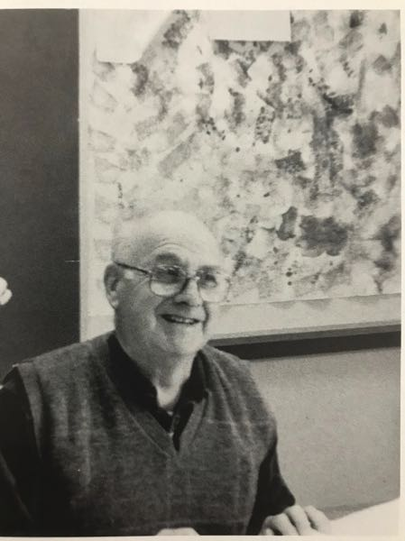 COURTESY PHOTO - Former Catlin Gabel teacher Richardson Shoemaker, known by his nickname Dick, is pictured in a 2000-2001 school yearbook photo.