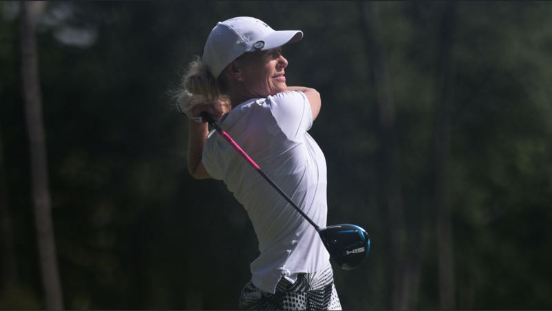 COURTESY PHOTO: KATHRYN RILEY/USGA - After not competing much while raising five children, Lara Mack has found a passion for golf that she didn't have as a younger golfer.