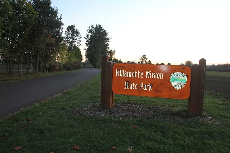 PMG PHOTO: JUSTIN MUCH - Willamette Mission State Park near Gervais offers a wide variety of activities, including disc golf, equestrian trails, bicycle and pedestrian paths and river views.