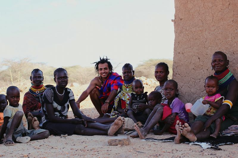 COURTESY PHOTO: THIERRY CASSUTO - Africa and I is about a man and his journey through Africa, and it is a highlight of the virtual Portland Film Festival.