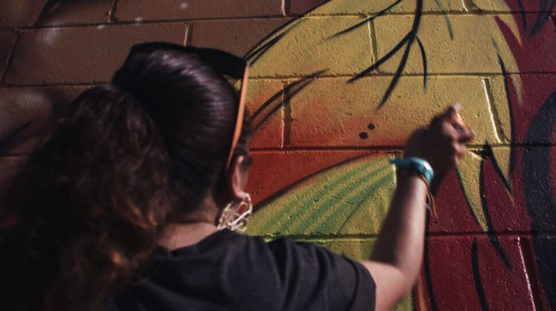 COURTESY PHOTO: PORTLAND FILM FESTIVAL - Street artists are featured in Street Heroines in the Portland Film Festival.