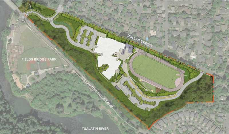 PMG FILE IMAGE - West Linn-Wilsonville School District plans for a new Athey Creek Middle School on Dollar Street will move forward after an appeal of the plans failed.