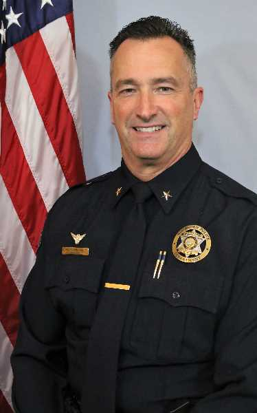 COURTESY PHOTO: CITY OF WOODBURN - Woodburn Police Chief Marty Pilcher., Woodburn Independent.
