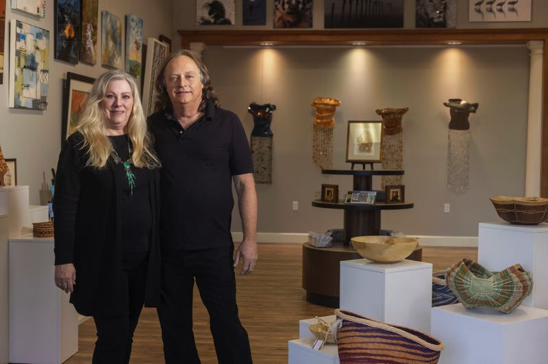 PMG PHOTO: JONATHAN HOUSE - Tina Hospers and John Koster are opening a new gallery in Lake Oswego, The Perfect Piece.