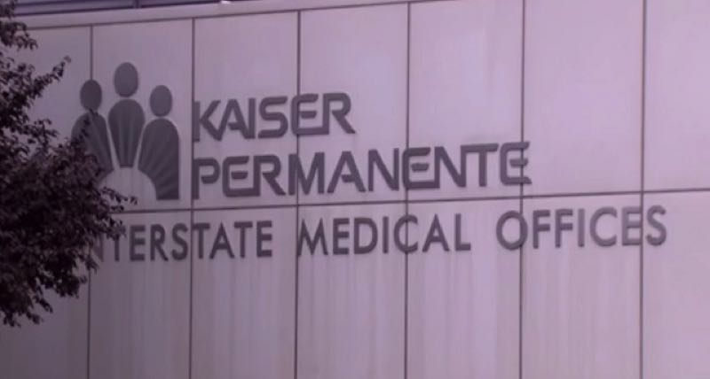 CONTRIBUTED PHOTO: KOIN 6 NEWS - Outside of Kaiser Permanente buildings.