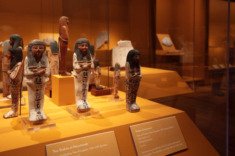 COURTESY PHOTO: JON RICHARDSON/PORTLAND ART MUSEUM - Shabtis, part of the Portland Art Museum exhibit, are figures of people who have done labor in the afterlife.