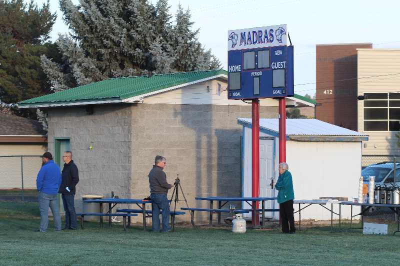 PMG PHOTO: ANDY DIECKHOFF - The facilities at the Madras High School soccer fields were built in the early 1990s and have not been renovated since that time.