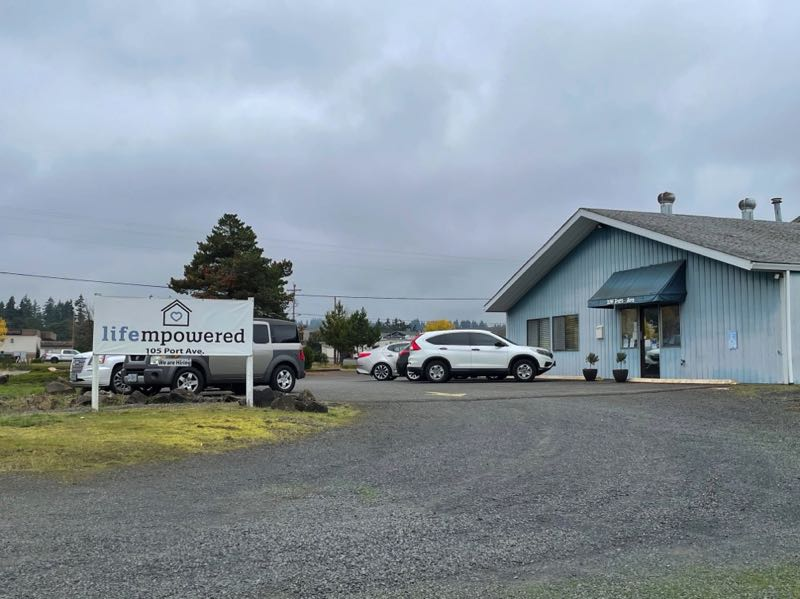 PMG PHOTO: ANNA DEL SAVIO - Lifempowered is purchasing its property in St. Helens from the Port of Columbia County. The nonprofit plans to tear down its old building and construct a newer, more modern facility.
