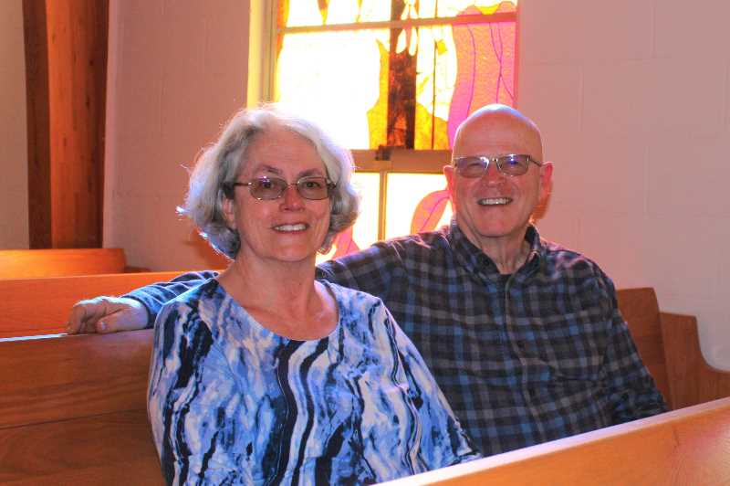 Bartt and Katherine Brick wrap their years of service in Madras
