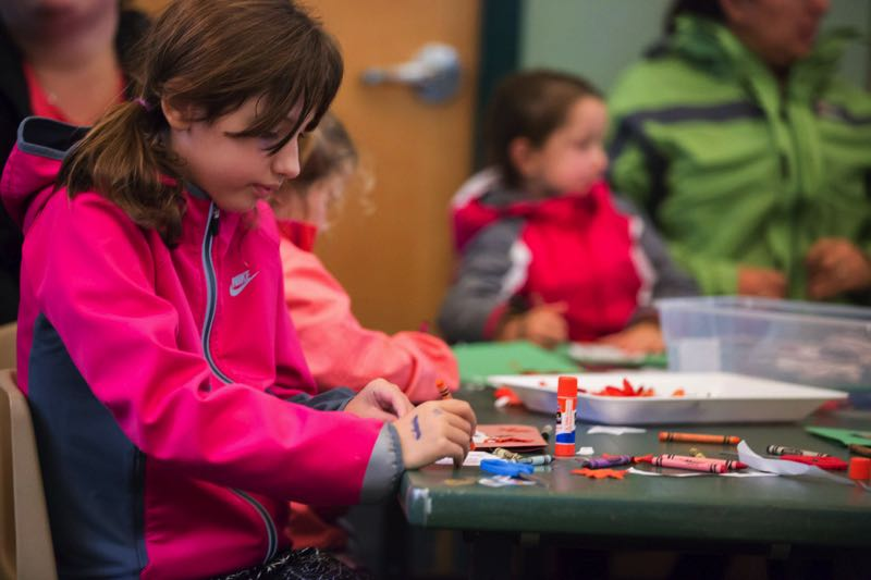 PMG FILE PHOTO - A child participates in social activities in Tualatin a few years ago.