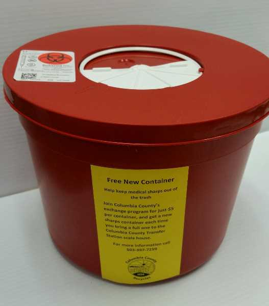 Clackamas County inks new infectious waste collection contract