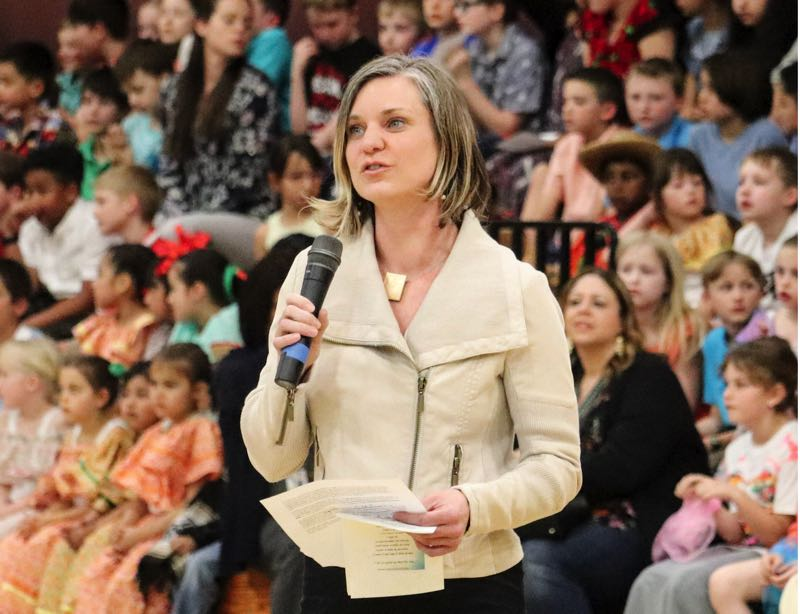 COURTESY PHOTO: CHELSEA KING - West Linn-Wilsonville School Board Chair Chelsea King is running as a Democrat for Senate District 13.