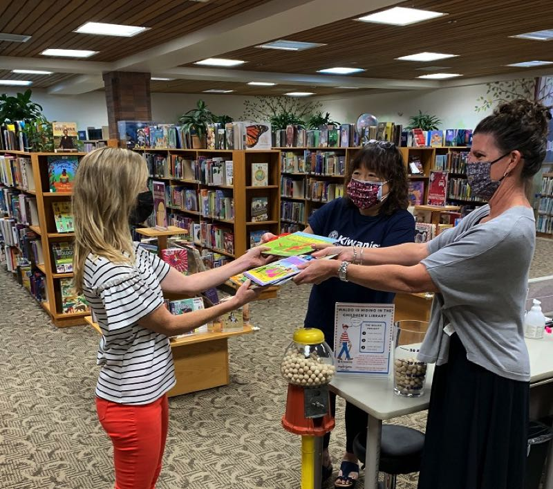 COURTESY PHOTO - The Waldo Project is in collaboration with the library, the Kiwanis Club of Lake Oswego and Hunger Fighters Oregon.