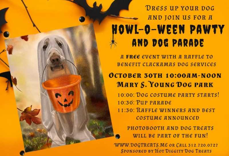 Dress up your dog for West Linn's 'Howl-O-Ween'
