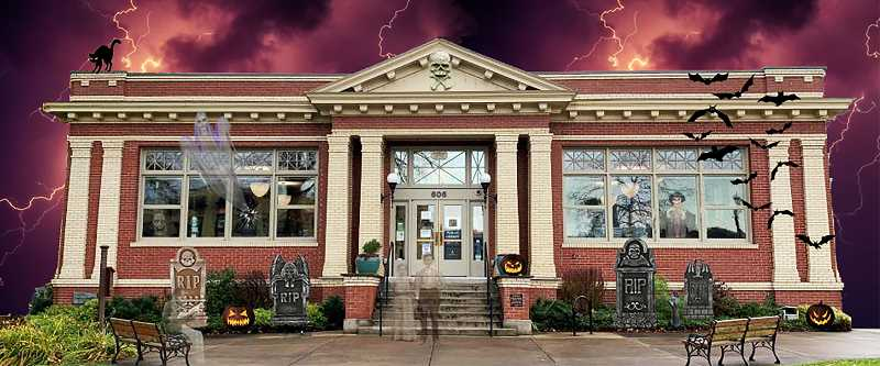 It's official: Oregon City Public Library is haunted