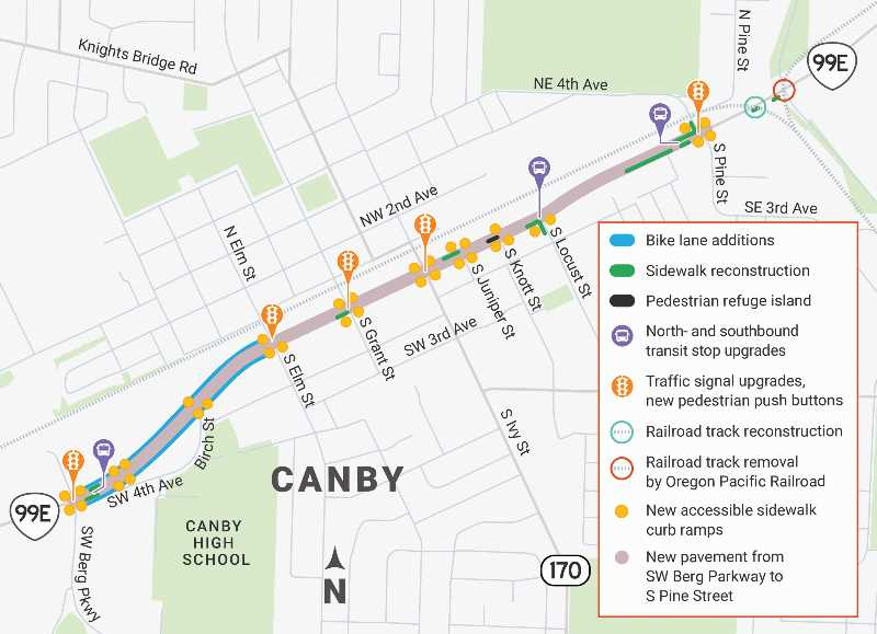 Canby Council to talk ODOT noise variance