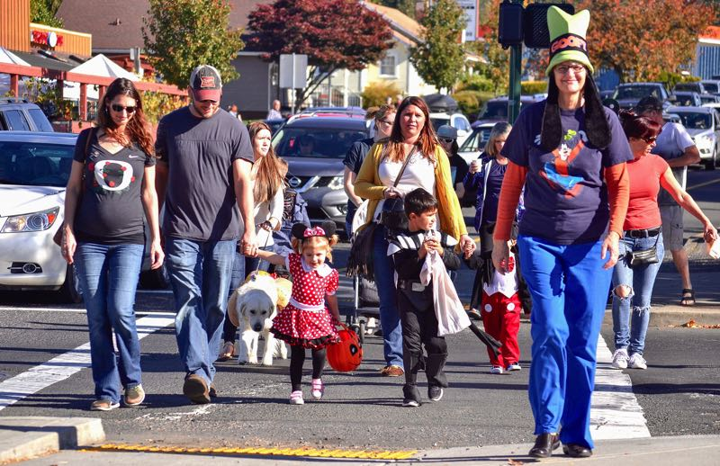 Ready your costumes and pails for the Trick or Treat Trail